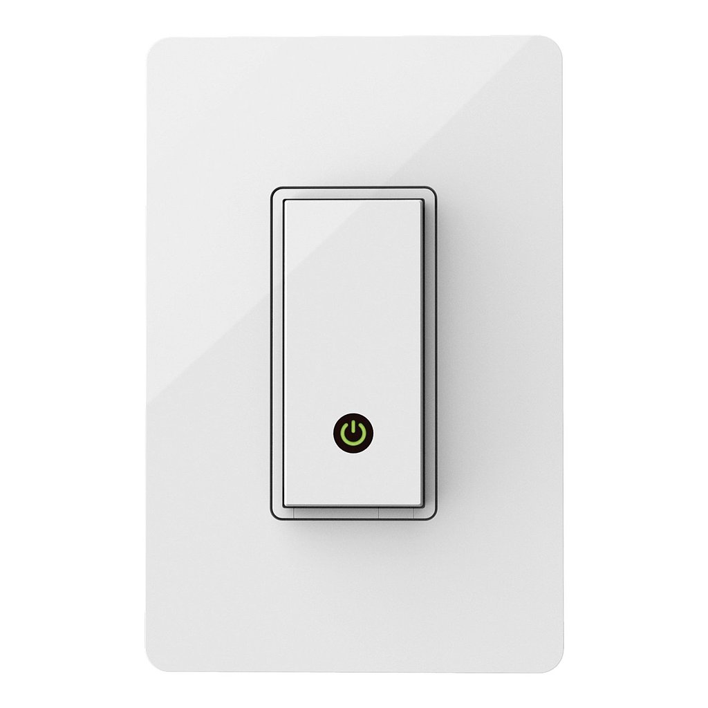 Forget about fumbling for your light switch, because now you can turn on the lights before you even get your key in the door! The automated light switch ($50) works from anywhere, and you can even set your lights on a schedule. — Ryan Roschke, editorial assistant