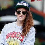 Kristen Stewart in Flip-Up Sunglasses | Pictures