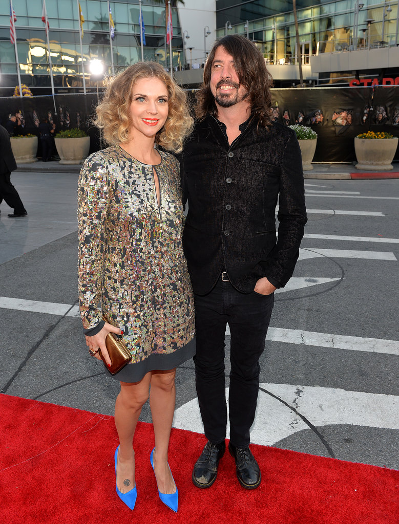 Dave Grohl and Jordyn Blum made their way into the show.