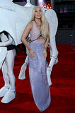 Lady Gaga arrived at the American Music Awards.