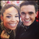 Jordin Sparks and Jesse McCartney paired up for a photo. Source: Instagram user jordinsparks