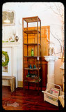 This Rachel Bilson house tour led me to fall in love with everything on the Heirloom Reclaimed Etsy page, especially this rustic metal and barnwood bookcase ($495). It's made from reclaimed wood and would be a great place for anyone on your gift list to store books or other knickknacks. — Molly Goodson, VP of content