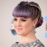 Kelly Osbourne Goes Punk Princess With Her Studded Hair