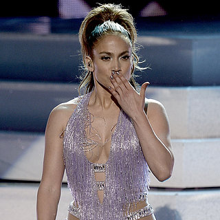 Jennifer Lopez at the American Music Awards 2013