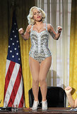 Gaga Goes From a White Horse to the White House