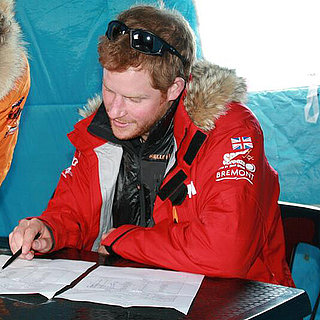 Prince Harry Grows a Beard For the South Pole Challenge