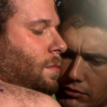 James Franco and Seth Rogen Spoof Bound 2 Music Video