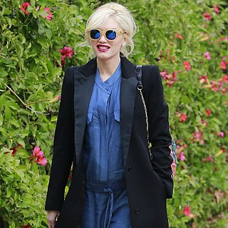 Gwen Stefani in a Denim Jumpsuit