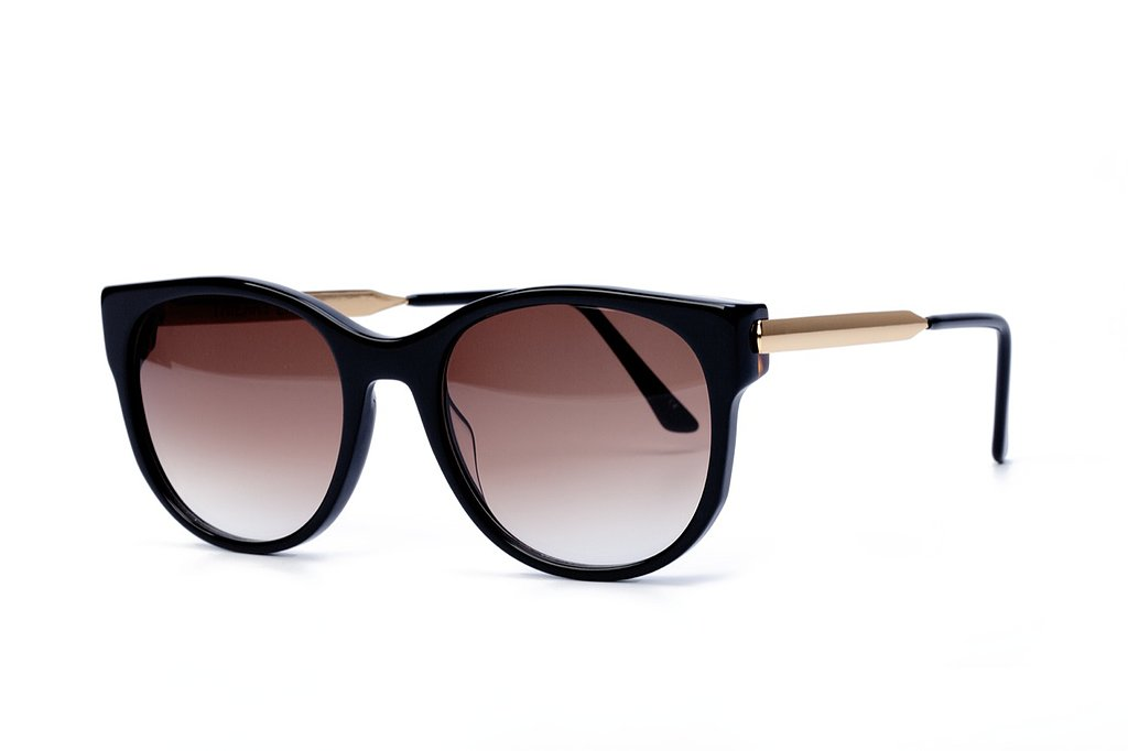 I've dreamed of decking my apartment in Kelly Wearstler's sleek and edgy accessories, so why wouldn't I want to do the same for my face with her Anorexxxy shades ($555)? — RM
