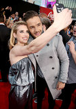 Emma Roberts posed with One Direction's Liam Payne at the American Music Awards.