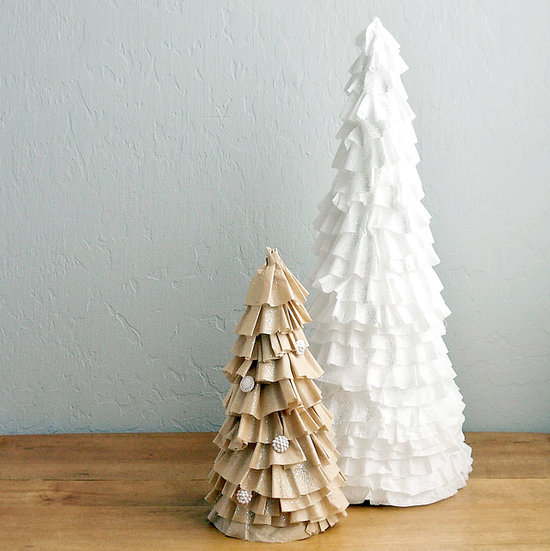 DIY Coffee-Filter Christmas Tree
