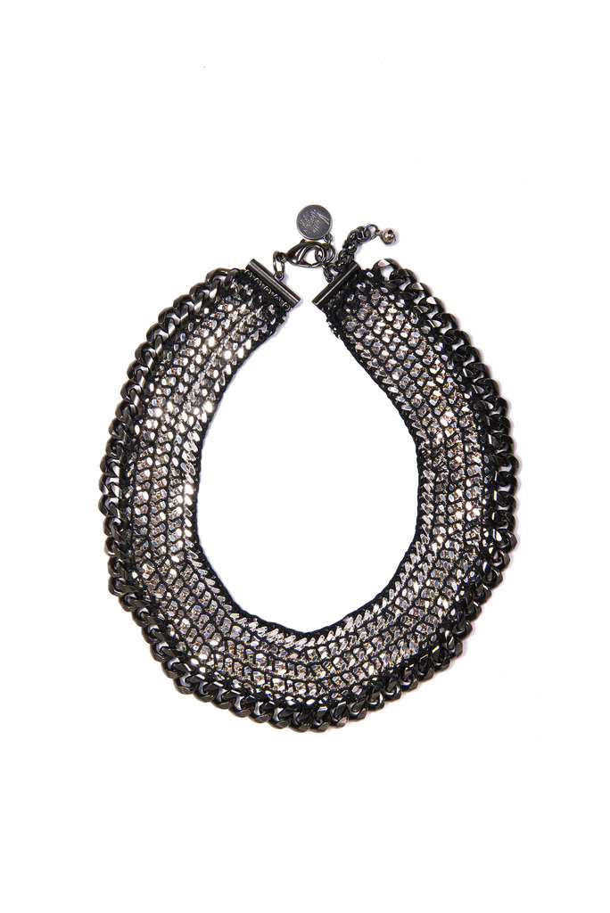 "Venessa Arizaga Harlem Shuffle Necklace ($350) ""A statement necklace is an asset and necessity in a woman's wardrobe. It transforms ordinary jeans and a white tee into a chic outfit, perfect for day or night. This piece specifically is so versatile. I love it!"""