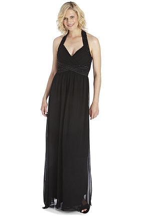 AX Paris Halterneck Jewel Maxi Dress