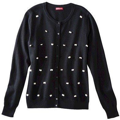 Merona® Women's Cardigan Sweater w/Bows - Assorted Colors