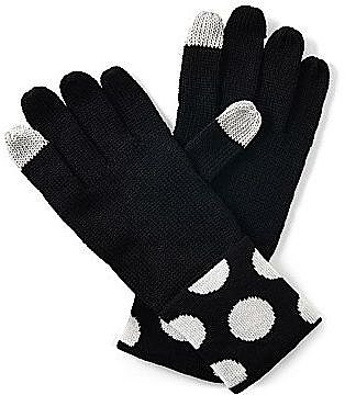 Lulu by Lulu Guinness® Dottie Cuffed Gloves