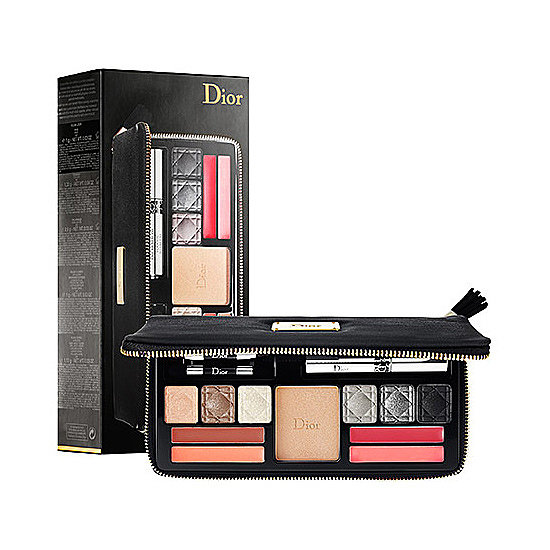 Leave your makeup bag at home . . . Dior's Holiday Couture Collection ($85) comes in a zipped-up case, making it perfect for glamour on the go.