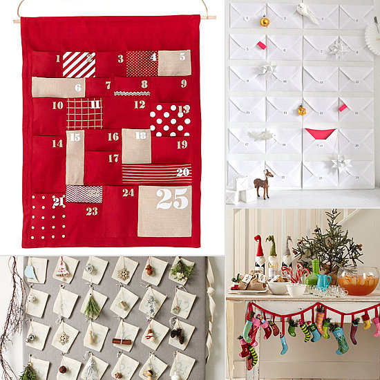 The Countdown Is On! 14 Gorgeous Advent Calendars to Make or Buy