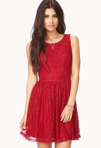 FOREVER 21 Poetic Crochet Lace Dress