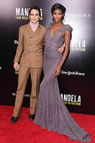 Zac Posen and Sessilee Lopez at a screening of Mandela: Long Walk to Freedom.