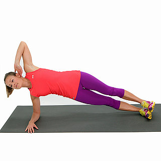 Side Elbow Plank With Twist