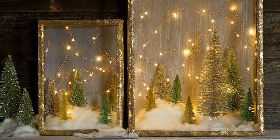 Diy Christmas Shadow Box Popsugar Home