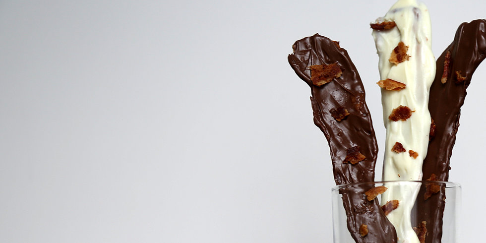 12 Days of Edible Gifts: Chocolate-Covered Bacon