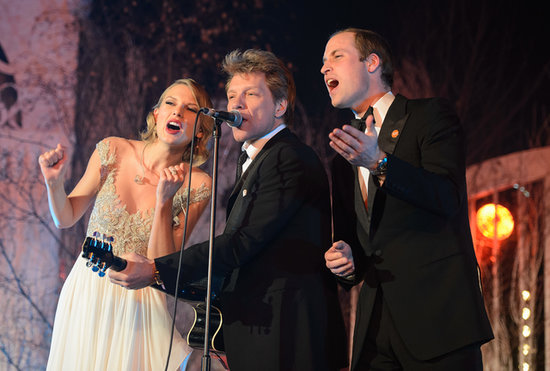OMG: Taylor Swift Sings With Prince William at Royal Gala