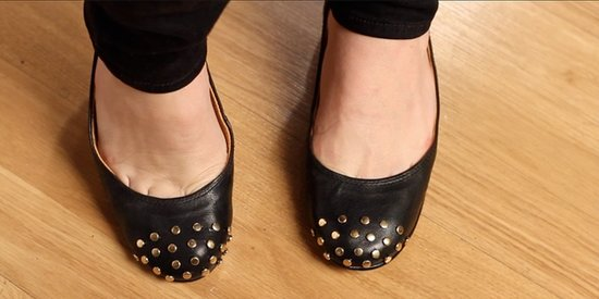 DIY: Add Rock 'n' Roll Studs to Flats!