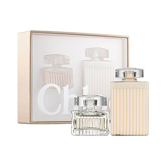 Gift Chloé's Mini Duo ($15) to the girlie girl in your life. The two-piece set includes the floral eau de parfum along with the body lotion.