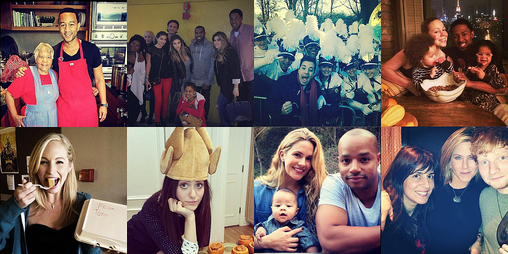Celebrity Thanksgiving Celebrations!