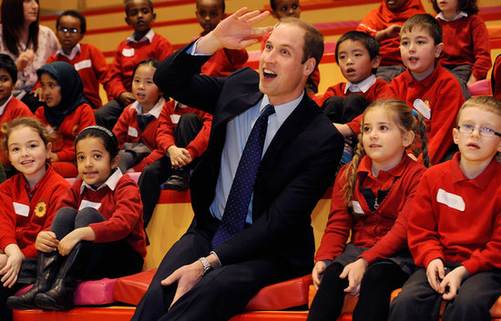 Prince William Couldn't Be More Adorable Playing With Kids