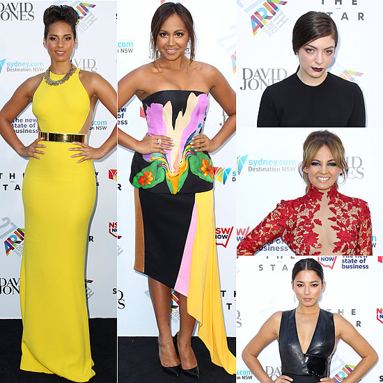 Celebrities Arrive at the 2013 ARIA Awards!