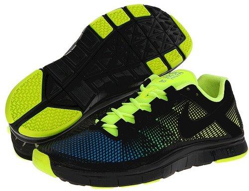 Nike - Free Trainer 3.0 NRG (Volt/Current Blue/Black) - Footwear