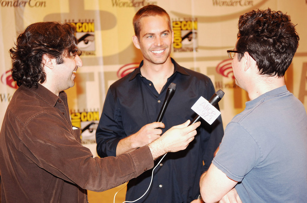 Paul Walker spoke to reporters during a WonderCon event in San Francisco in February 2006.