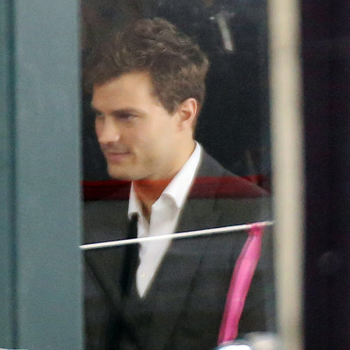 Jamie Dornan Filming Fifty Shades of Grey Movie