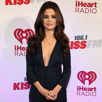 Selena Gomez V Neck Suit