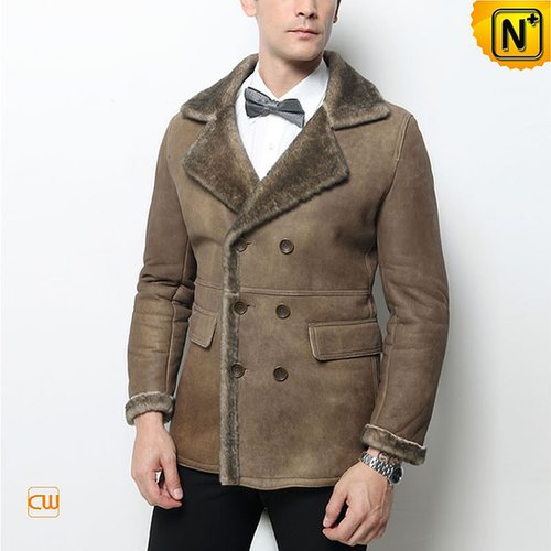 Winter Shearling Coat Men CW877206