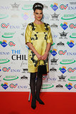 Linda Evangelista at the Children For Peace Benefit Gala.