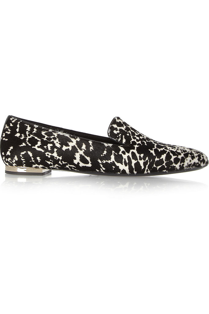 Burberry Prorsum Animal-Print Calf Hair Slippers ($248, originally $495)