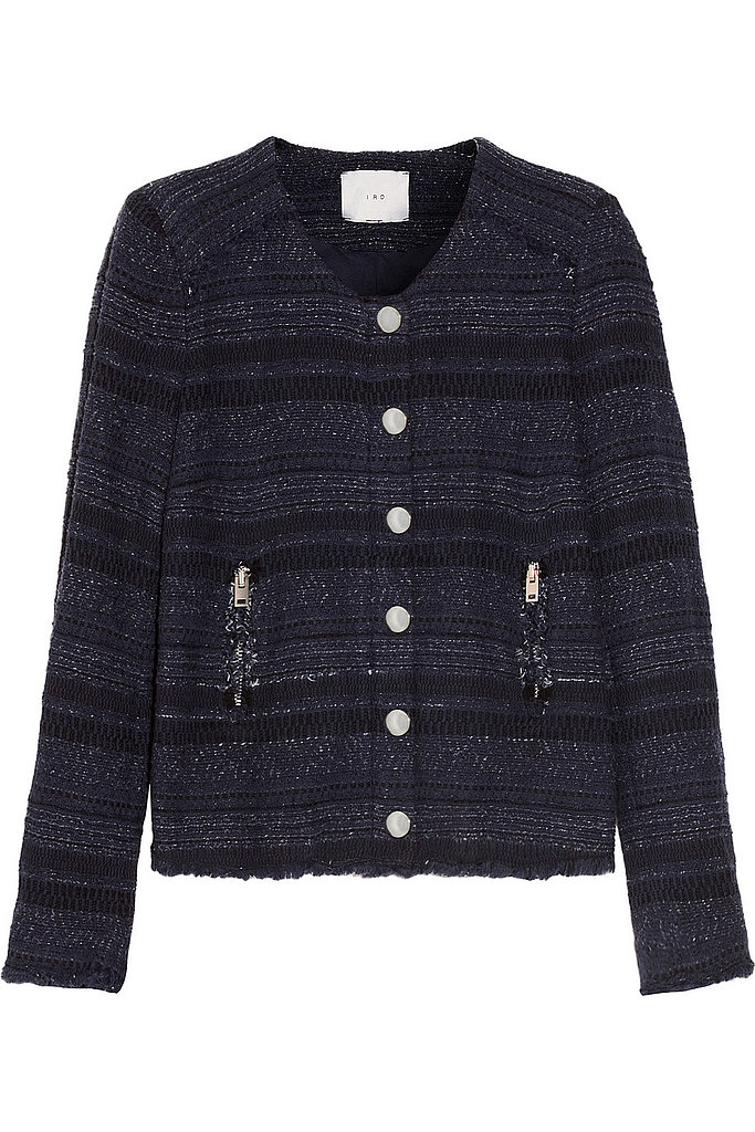IRO Lizzie Cotton-Blend Tweed Jacket ($371, originally $530)