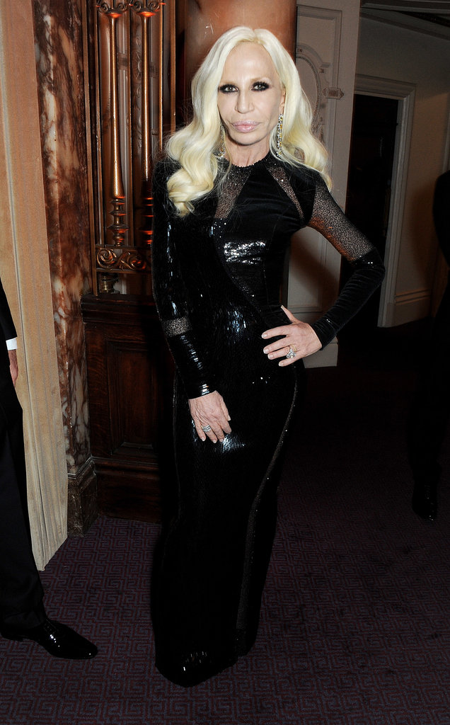 Donatella Versace Source: Getty