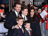 David and Victoria Beckham took their three sons — Brooklyn, Romeo, and Cruz — to the world premiere of The Class of '92 in London on Sunday.