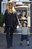 Rachel Zoe and Skyler Berman were hand in hand in LA.
