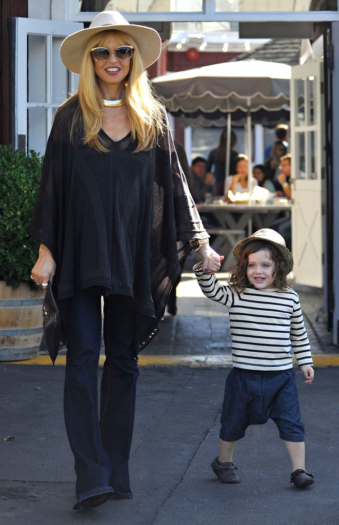 Rachel Zoe and Skyler Berman were hand in hand in LA on Sunday.