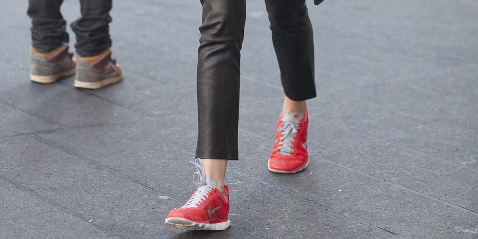 A Chic Way to Wear Your Sneakers