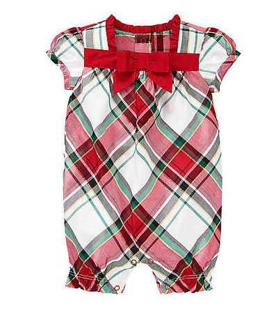Gymboree Plaid Duppioni One-Piece