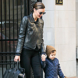 Miranda Kerr Drops Flynn to Orlando Bloom in NYC