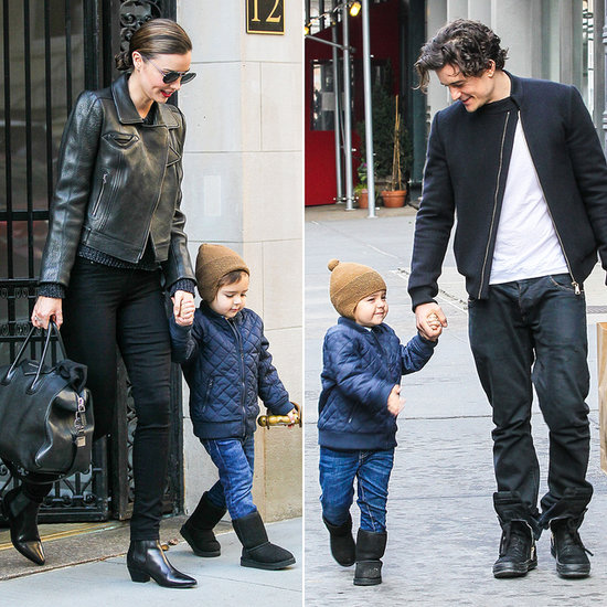 Miranda Kerr and Orlando Bloom Do the Flynn Swap