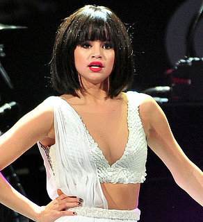 Selena Gomez Wore a Bob Wig at Jingle Bell Concert