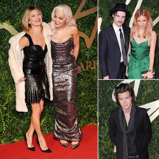 The British Fashion Awards Draw Kate, Sienna, Harry and More